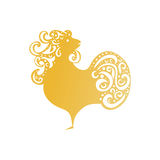 Chinese New Year 2017 rooster design. - Symbol of New Year 2017. Rooster isolated on white. Chinese New Year 2017 rooster design. - Symbol of New Year 2017 vector illustration