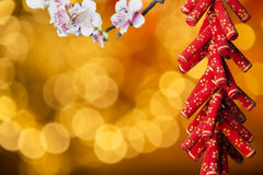 Chinese new year's decoration Stock Image