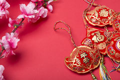 Chinese new year's decoration. Stock Photos
