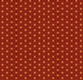 Chinese New Year seamless pattern. Chinese New Year seamless geometric pattern, golden on red. Vector illustration. Flat style design. Concept for holiday banner vector illustration
