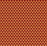 Chinese New Year seamless pattern. Chinese New Year seamless geometric pattern, golden on red. Vector illustration. Flat style design. Concept for holiday banner stock illustration