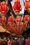 Chinese New Year,Shanghai,China Royalty Free Stock Photography