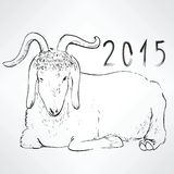 Chinese New Year Sheep Royalty Free Stock Photo