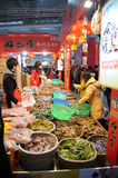 Chinese new year shopping Royalty Free Stock Photography