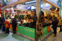 Chinese new year shopping festival in chengdu Stock Images