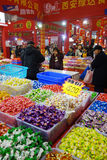 Chinese new year shopping festival in sichuan Stock Images