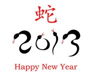 Chinese New Year of the Snake 2013 Stock Images