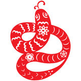 Chinese New Year Snake Royalty Free Stock Image