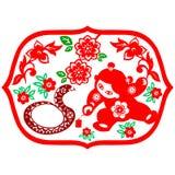 Chinese New Year Snake Royalty Free Stock Image