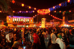 Chinese New Year 2566 in Solo Royalty Free Stock Photo