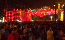 Chinese New Year 2566 in Solo Stock Image