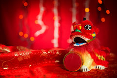 Chinese New Year or Spring Festival decorations Stock Photos