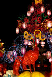 Chinese New Year Street Decoration Royalty Free Stock Photos