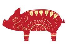 Chinese new year symbol. Vector illustration design royalty free illustration