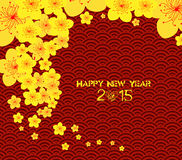 Chinese new year template background. Chinese New Year Greeting Card Royalty Free Stock Photos