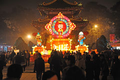 Chinese New Year Temple Fair in chengdu Royalty Free Stock Photos