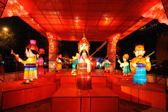 Chinese New Year Temple Fair in chengdu Royalty Free Stock Images