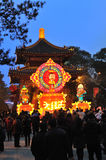 Chinese New Year Temple Fair in chengdu Stock Photography