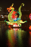 2014 Chinese New Year temple fair and lantern fest Royalty Free Stock Image