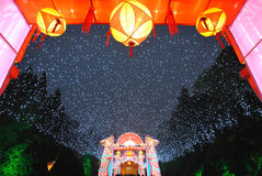 2014 Chinese New Year temple fair and lantern festival Royalty Free Stock Photos