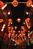 2014 Chinese New Year temple fair and lantern festival stock images