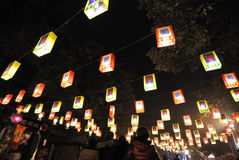 2014 Chinese New Year temple fair and lantern festival Royalty Free Stock Images