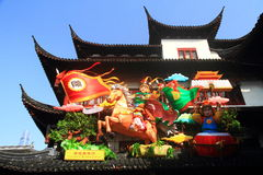 Chinese New Year Temple Fair Royalty Free Stock Image