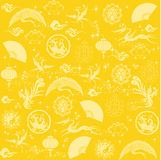 Chinese new year texture Stock Image