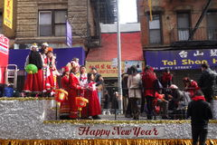Chinese New Year in New York City Stock Photography