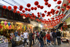 Chinese New Year in Thailand Royalty Free Stock Photo