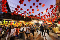 Chinese New Year in Thailand Royalty Free Stock Images