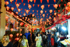 Chinese New Year in Thailand Stock Photo