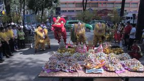 Chinese New Year stock video footage