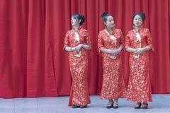 Chinese New Year 2019 - three hostesses portrait