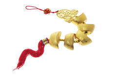 Chinese New Year Trinket. On White Background Stock Photography