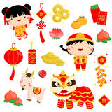 Chinese New Year Vector Stock Images