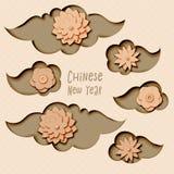 Chinese New Year 2019 stock illustration