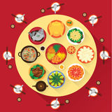 Chinese New Year Vector Design Royalty Free Stock Photography