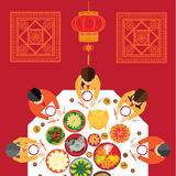 Chinese New Year Vector Design Stock Image