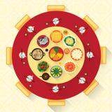Chinese New Year Vector Design Stock Photo