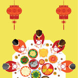 Chinese New Year Vector Design Royalty Free Stock Images
