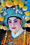 Chinese New Year Woman in Traditional Costume Royalty Free Stock Images