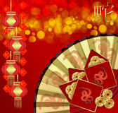 Chinese New Year, Year Of The Snake. Greeting Card, Wall Art, Decal, Stationary Royalty Free Stock Image