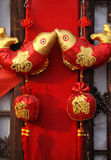 Chinese New Years Decorations Stock Photo