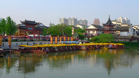 Chinese Newyear NanJing City Confucius Temple Stock Image