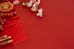 Chinese nieuwe de pruimbloemen van het jaarfestival royalty-vrije stock foto's
