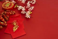 Chinese nieuwe de pruimbloemen van het jaarfestival stock fotografie