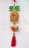 Chinese nieuwe jaar decoratie en het hangen Royalty-vrije Stock Afbeeldingen