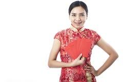 Chinese nieuwe jaar 2018 jongelui Royalty-vrije Stock Foto's