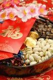 Chinese nieuwe jaardecoratie Stock Afbeelding